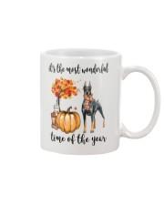 The Most Wonderful Time - Doberman Pinscher Mug thumbnail