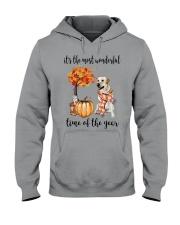 The Most Wonderful Time - Yellow Labrador  Hooded Sweatshirt thumbnail