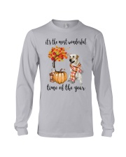 The Most Wonderful Time - Yellow Labrador  Long Sleeve Tee thumbnail