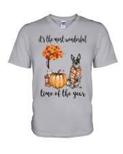The Most Wonderful Time - Australian Cattle Dog V-Neck T-Shirt thumbnail