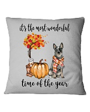 The Most Wonderful Time - Australian Cattle Dog Square Pillowcase tile