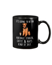 Airedale Terrier Coffee and Naps Mug thumbnail