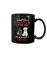 Christmas - Wine and Westie Mug thumbnail
