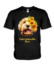 Labradoodle Mom V-Neck T-Shirt thumbnail