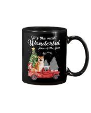 Wonderful Christmas with Truck - Shiba Inu Mug thumbnail
