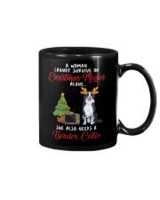 Christmas Movies and Border Collie  Mug thumbnail