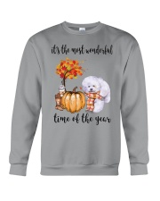 The Most Wonderful Time - Bichon Frise Crewneck Sweatshirt thumbnail