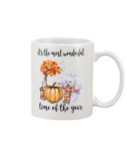 The Most Wonderful Time - Bichon Frise Mug thumbnail