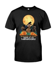 Howloween Labradoodle 2 Classic T-Shirt front