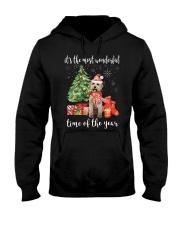 The Most Wonderful Xmas - Labradoodle Hooded Sweatshirt thumbnail