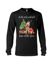 The Most Wonderful Xmas - Labradoodle Long Sleeve Tee thumbnail