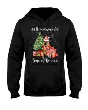 The Most Wonderful Xmas - Shar Pei Hooded Sweatshirt thumbnail