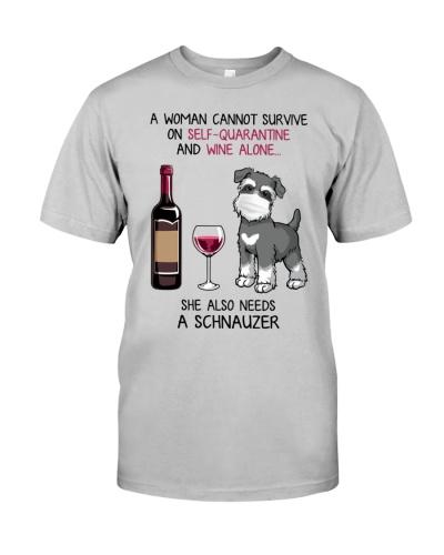 Cannot Survive Alone - Schnauzer