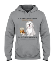 Coffee and Bolognese Dog 2 Hooded Sweatshirt thumbnail