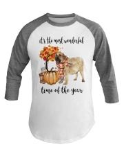 The Most Wonderful Time - Spanish Mastiff Baseball Tee thumbnail