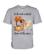 The Most Wonderful Time - Spanish Mastiff V-Neck T-Shirt thumbnail