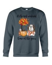 The Most Wonderful Time - Shih Tzu Crewneck Sweatshirt thumbnail