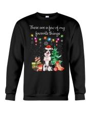 A Few of My Favorite Things - Border Collie Crewneck Sweatshirt thumbnail