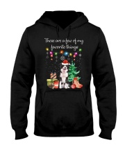 A Few of My Favorite Things - Border Collie Hooded Sweatshirt thumbnail