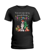 A Few of My Favorite Things - Border Collie Ladies T-Shirt thumbnail
