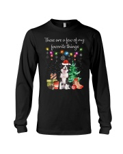 A Few of My Favorite Things - Border Collie Long Sleeve Tee thumbnail