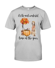 The Most Wonderful Time - Saluki Classic T-Shirt front