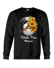 Shih Tzu Mama Crewneck Sweatshirt thumbnail