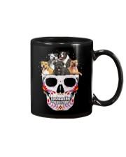 Half Skull Staffordshire Bull Terrier Mug thumbnail
