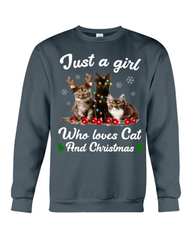 Just A Girl Who Loves Cats and Christmas