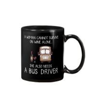 Wine and A Bus Driver Mug thumbnail