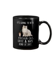 Persian Cat Coffee and Naps Mug thumbnail