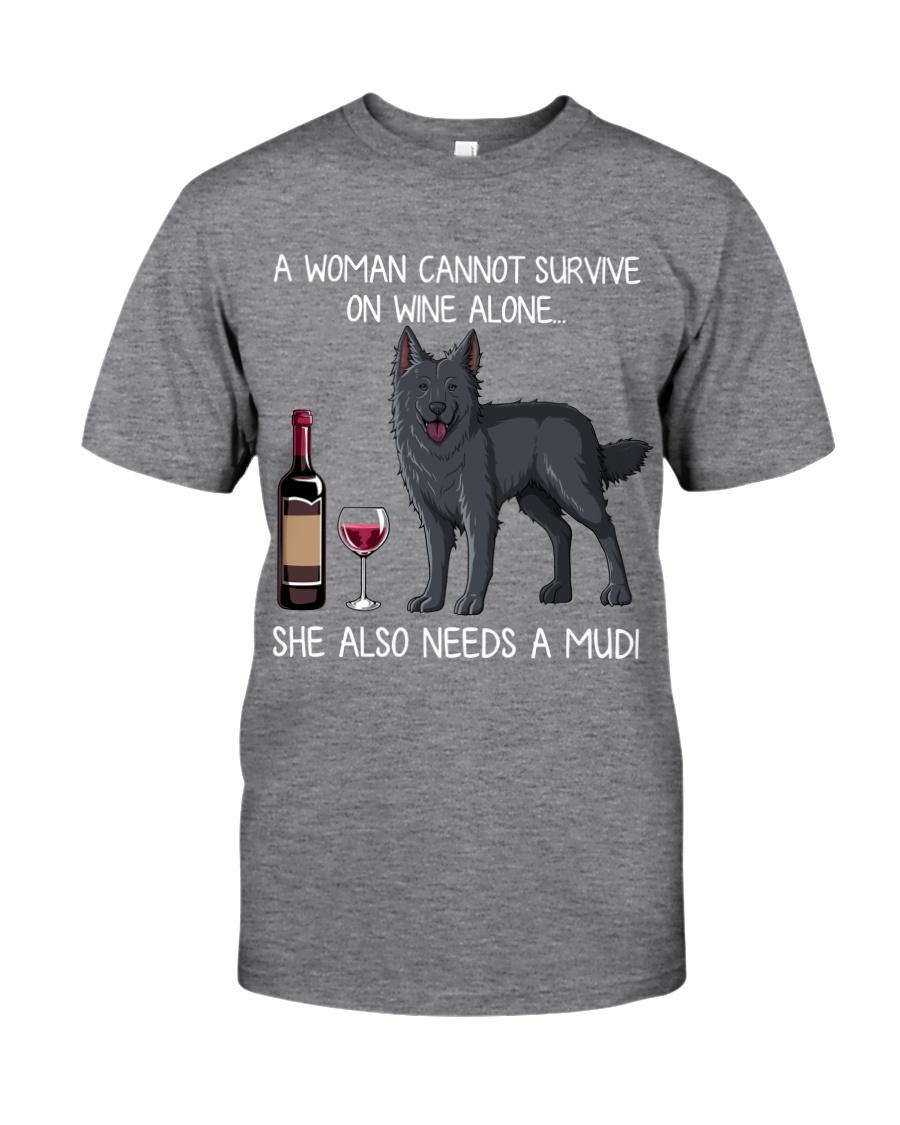 Wine and Mudi Classic T-Shirt