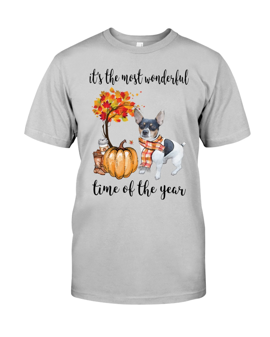 The Most Wonderful Time - Rat Terrier Classic T-Shirt