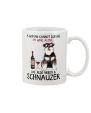 Wine and Schnauzer 4 Mug thumbnail