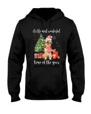The Most Wonderful Xmas - Golden Retriever Hooded Sweatshirt thumbnail