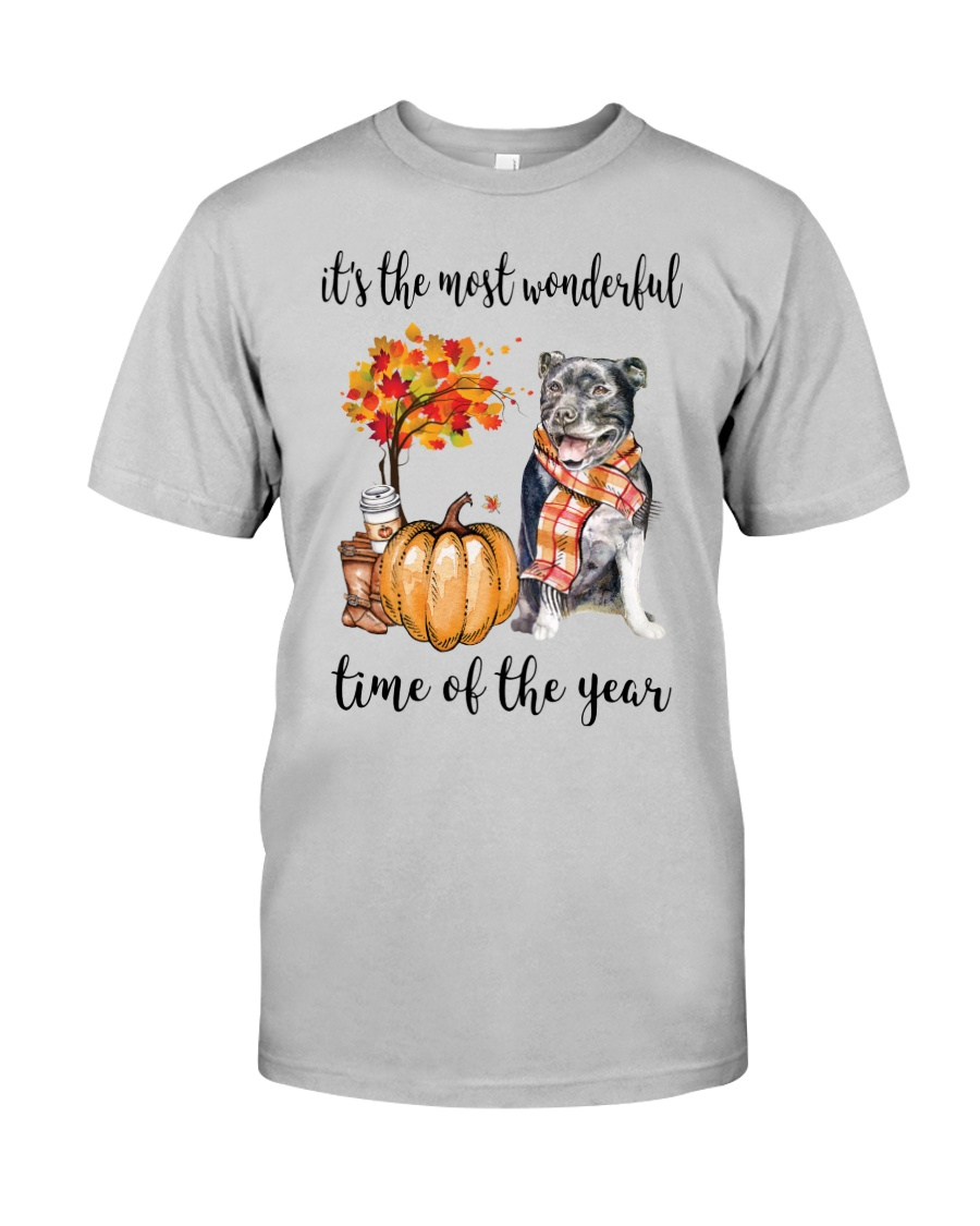 The Most Wonderful Time - Staffie Classic T-Shirt
