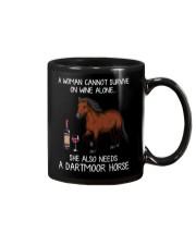 Wine and Dartmoor Horse Mug thumbnail
