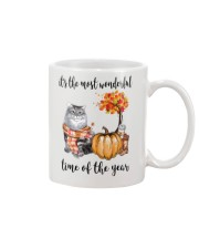 The Most Wonderful Time With Cat Mug thumbnail