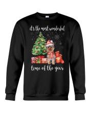The Most Wonderful Xmas - Yorkie Crewneck Sweatshirt thumbnail