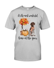 The Most Wonderful Time German Shorthaired Pointer Classic T-Shirt front