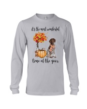 The Most Wonderful Time German Shorthaired Pointer Long Sleeve Tee thumbnail