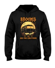 RV Brooms Are For Amateurs Hooded Sweatshirt thumbnail