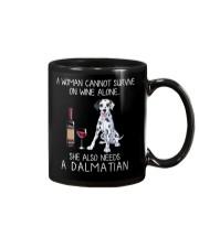 Wine and Dalmatian Mug thumbnail