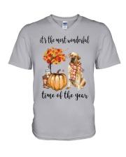 The Most Wonderful Time - Tosa V-Neck T-Shirt thumbnail