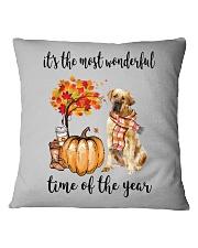 The Most Wonderful Time - Tosa Square Pillowcase thumbnail