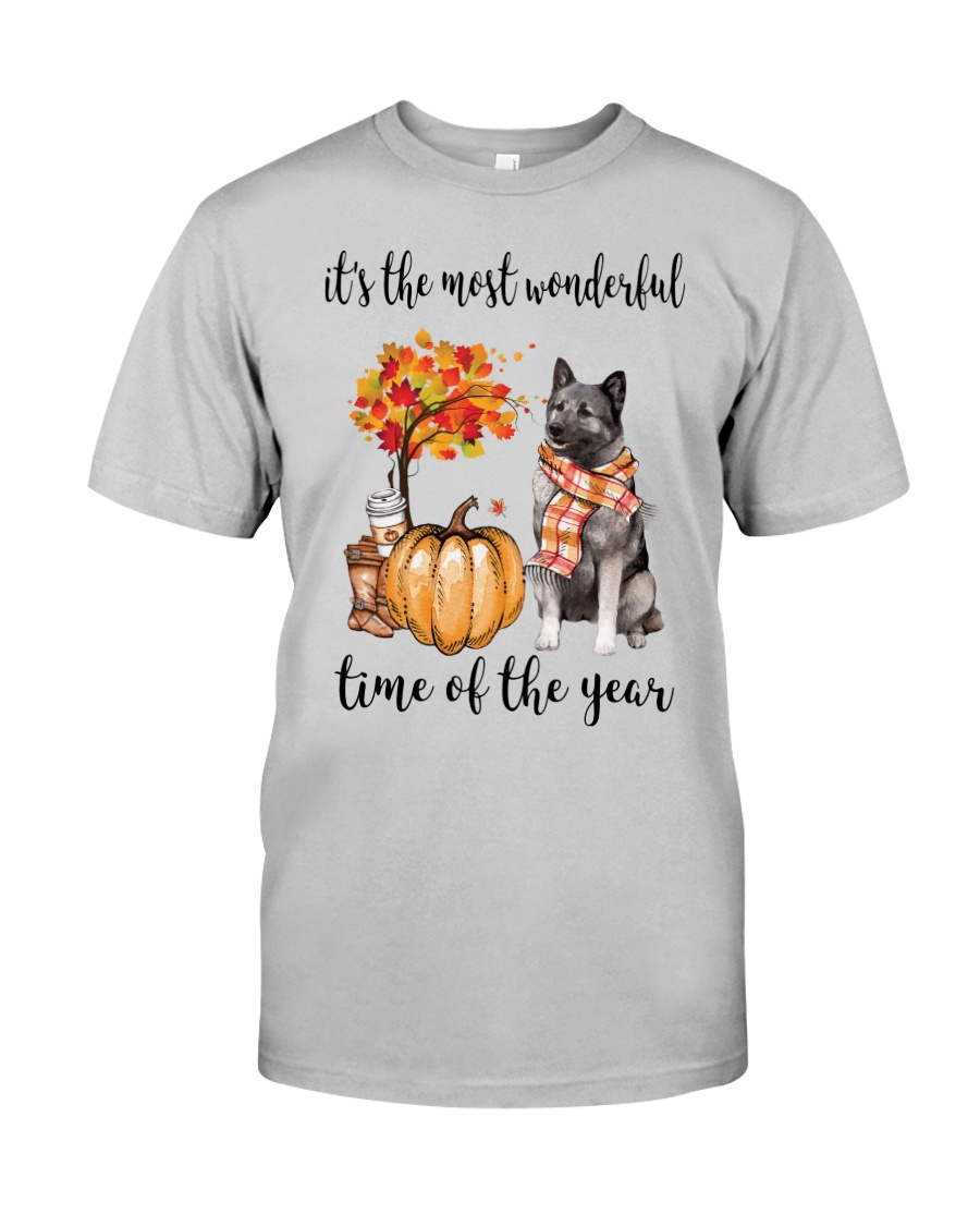 The Most Wonderful Time - Norwegian Elkhound Classic T-Shirt