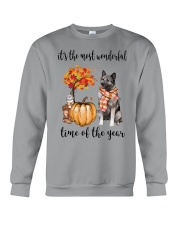 The Most Wonderful Time - Norwegian Elkhound Crewneck Sweatshirt thumbnail