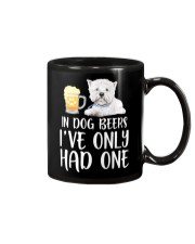 In Dog Beers I've Only Had One - Westie Mug thumbnail
