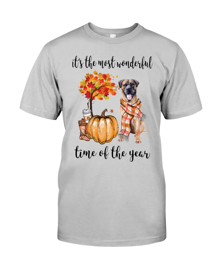 The Most Wonderful Time - Boerboel Classic T-Shirt