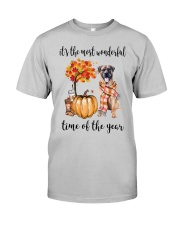 The Most Wonderful Time - Boerboel Classic T-Shirt front